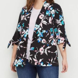 Lane Bryant floral jacket